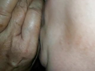 Lise deepthroating my man-meat