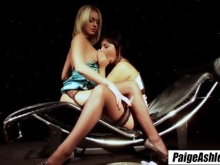 """""""Paige Ashley smoking lovely ciggy loosens her into lesbo sex"""""""