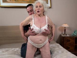 Grandmas orientation spunked more than