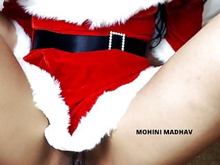 X mas Musterbation drill with santa stimulator Christmas Part 2