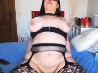 Ultra-kinky phat jugs black-haired heads All The Way Live On web cam