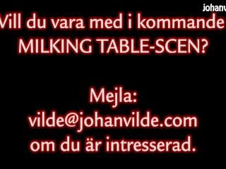 'Sch?�ne geile Schwedische cougar Cristina Cielo gibt einen hj am wanking table'