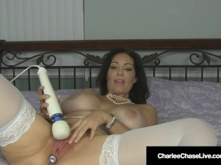 Milf Charlee haunt Gets A ginormous ejaculation With plug!