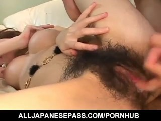 Maiko Ohshiro luvs the greatest intercourse with a junior - More at hotajp.com