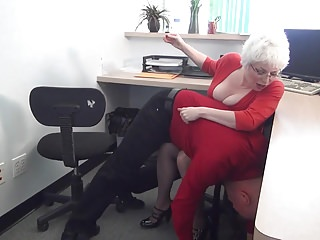 My manager domme