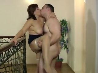 Unbelievable Homemade vid with immense globes, pantyhose gigs