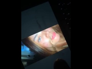Nutting all over a photograph of my wife?��s face
