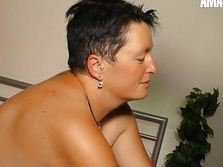 AmateurEuro - plus-size Mature wifey Has scorching romp On webcam With spouse