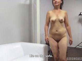 Unexperienced cougar Czech porno audition