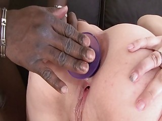 Cougar AND HER very first ginormous ebony MONSTER manstick