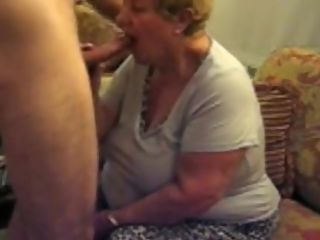 Naughty Homemade record with grandmothers, blow-job sequences
