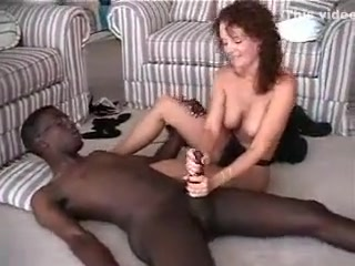 Appetizing mature fledgling housewife multiracial cheating hand job