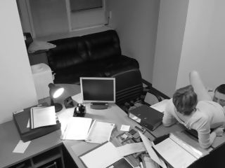 Temptation Of Office assistant Caught On covert Security web cam