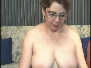 Grannie on a cam