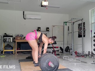 Powerful Deadlifts for my admirers