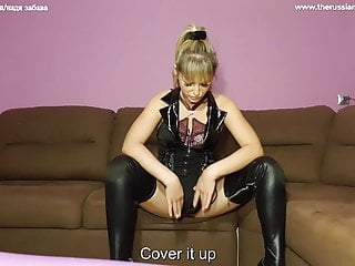 Swallow my urinate,beta marionette and thank your queen.female dom Jerk Off Instructions