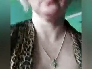 Russian dame undresses in front of the camera and jacks