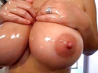 Monstrous breasted, Caucasian phat ass white girl is deep-throating fuck-stick and stretching up to get stuffed with it