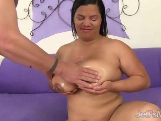 Scorching phat ebony Latina culo Bla