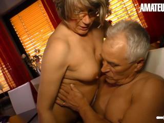 'HausfrauFicken - stellar German Mature mighty twat shag With nasty senior fellow - AMATEUREURO'
