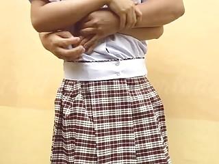 Pinay school schoolgirl Has Outdoor fucky-fucky With Her Classmate
