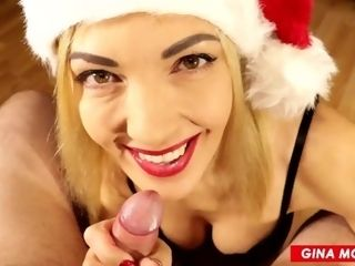 'BLOWJOB finest bounty FOR fresh YEAR ?�� nasty SANTA GIRL'
