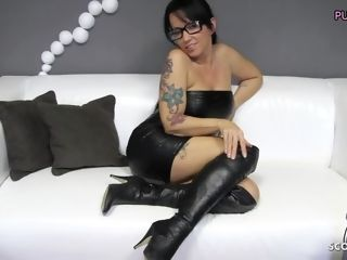 German spandex mommy with gigantic boobs insatiable point of view sloppy converse for You