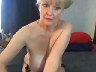 Nice grandmother web cam