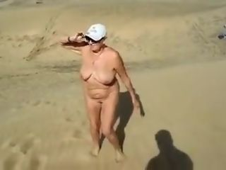 Exotic unexperienced record with naturism, grandmothers sequences