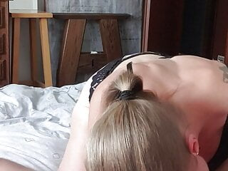 Flawless fellate oral job displaying off her soles, facial cumshot