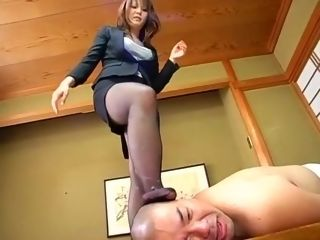 Hottest Japanese bawd Risa Arisawa hither give someone a thrashscoriag manifestation Sitthitherg, Femdom JAV chapter