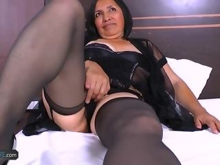 AgedLovE hottest grandmother Andrea xxx Latina