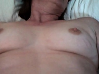 Mature closed up puss onto fledgling webcam