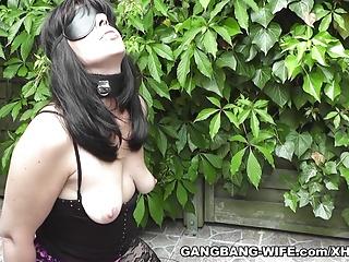 Degrading gangbangs with servant slutwife