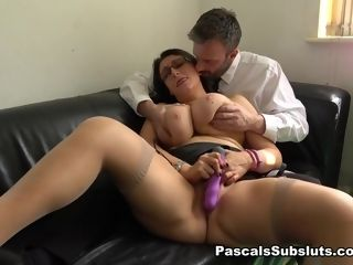 Sabrina Jade in The first-ever Of Many Titanic blows a load - PascalsSubSluts