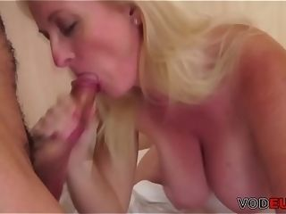 VODEU - thick breasted mother gets humped by a youthfull stud