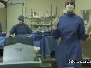 Finest mature medic tempts youthfull intern