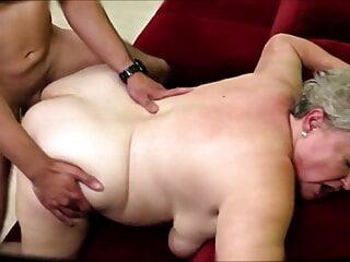 Plump mature wifey