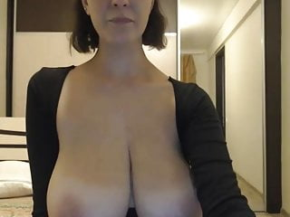 Marvelous huge-chested cougar