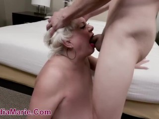 Huge fuckslut Claudia Marie Has Her sensitive assets ruined By stiff sausage