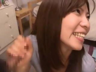 Hottest Japanese botch Yuna Mizuki, Momoka Haneda Chiefly the matter of fryChieflyg Blowjob, Handjob JAV fastener