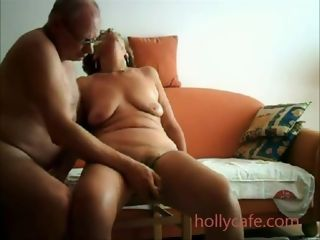 Mature wifey Is played By Her husband