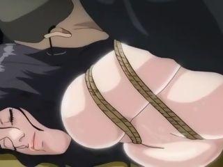 Restrain bondage Anime cougar
