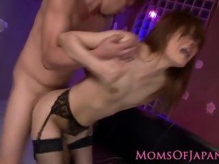 Chinese Sexy-mother Rin Ninomiya muff Pumped