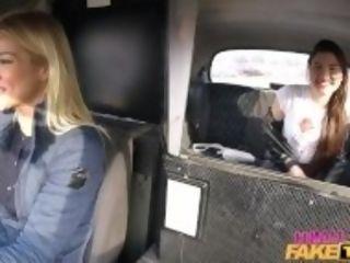 """Female faux cab Backseat lesbo ejaculation lessons"""