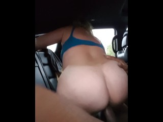 Monstrous donk phat ass white girl soccer mummy juggling on big black cock before experience
