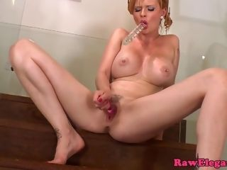 Stunner in bathing suit Tarra White is plowing herself with ?�?2 hump toys