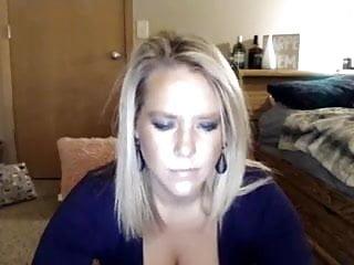 Gorgeous cam ash-blonde phat ass white girl 2