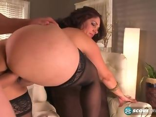 Latina Stripper cougar Takes On The fat Mac
