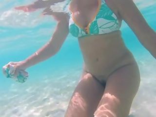 Spy beach mature moist saggy grannys showcasing of gilf puss